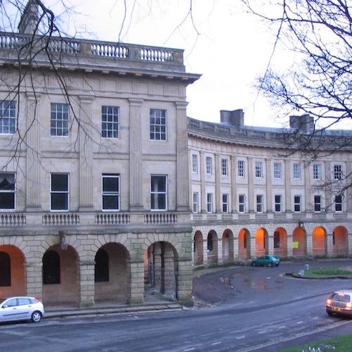 Buxton Crescent Spa Hotel architecture